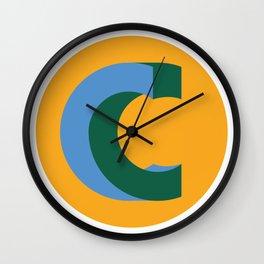 Premade Logo - Optical Illusion Flat Wall Clock