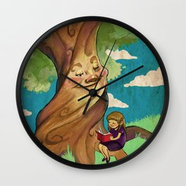 Mother Tree Wall Clock