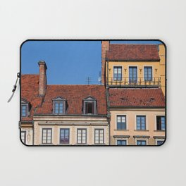 Houses in Old Town of Warsaw Laptop Sleeve
