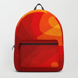 Red Vibrations Backpack