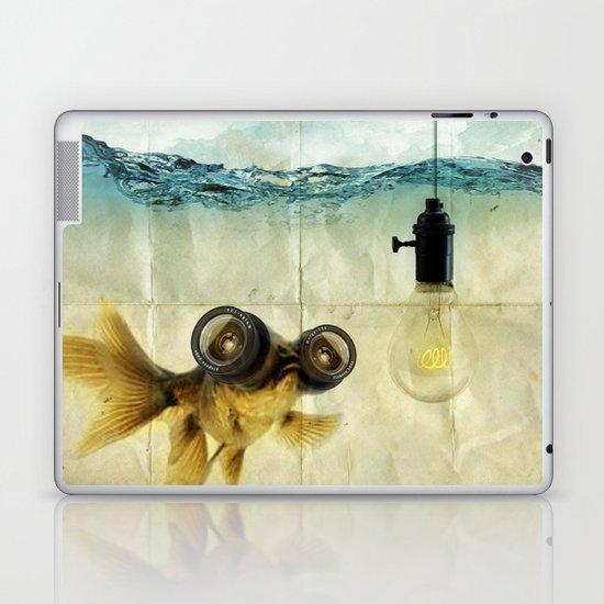 Fish Eyed Lens 03 Laptop & iPad Skin