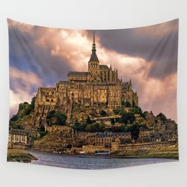 On The Coast Of Normandy Wall Tapestry