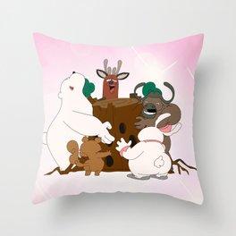 The Magic Tree (Peepoodo) Throw Pillow