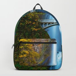 Bridge over the Waterfall (Color) Backpack
