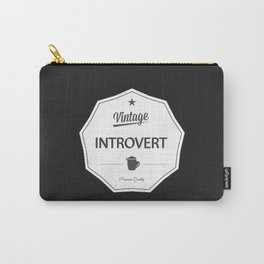 Vintage Introvert Carry-All Pouch