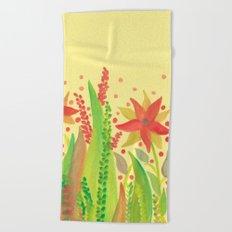 Botanical vibes 11 Beach Towel