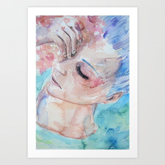 Frustration. Art Print