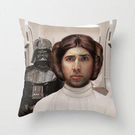 Princess Cage Throw Pillow