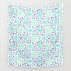 Arabic pattern Wall Tapestry