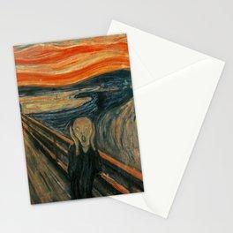Classic Art - The Scream - Edvard Munch Stationery Cards