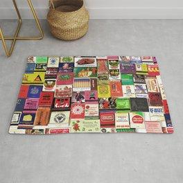 Antique Matchbooks Rug