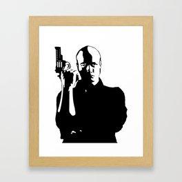 Gunman Framed Art Print