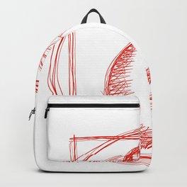 Metaphysical Penguin Vetruvian Penguin Backpack