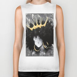 Naturally Queen III Biker Tank