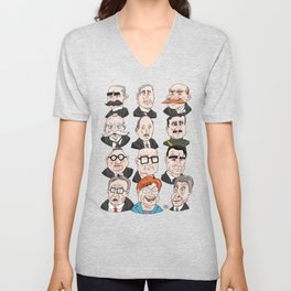 Presidents of Finland Unisex V-Neck