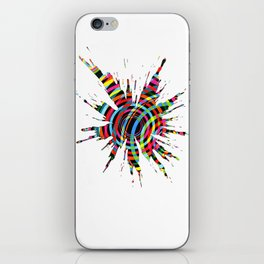 Explosions 3 iPhone Skin