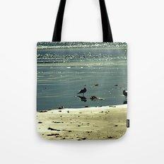 Morning Glitter Tote Bag