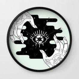 Open Wall Clock