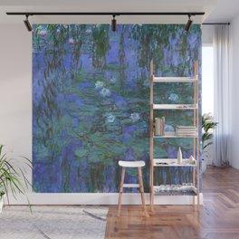"Claude Monet ""Water Lilies"" (7) Wall Mural"