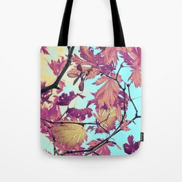 Japanaese Tree with hänging nouses in the Sun Tote Bag