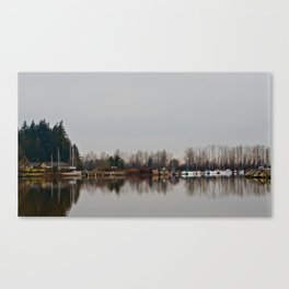 Reflections Dockside Canvas Print