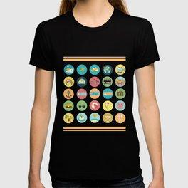 Funny Novelty Gift For Traveler Traveler T-shirt