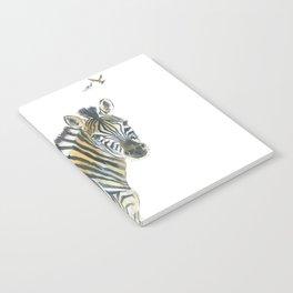 Zebra and Birds Notebook