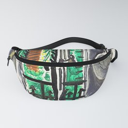 12,000pixel-500dpi - Pablo Picasso - Atelier, painted in Cannes - Digital Remastered Edition Fanny Pack