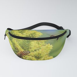 Pollination of sumac flower Fanny Pack