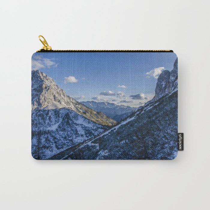 Cold Mountains Carry-All Pouch