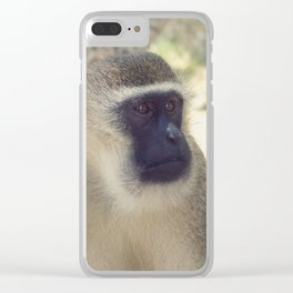 Vintage Africa 20 Clear iPhone Case