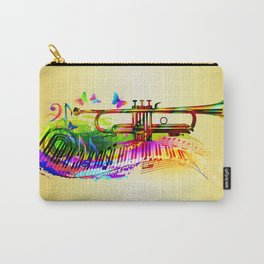 Summer music instruments design Carry-All Pouch