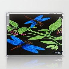 Blue dragonflies Laptop & iPad Skin
