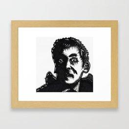 KENNETH WILLIAMS        Framed Art Print