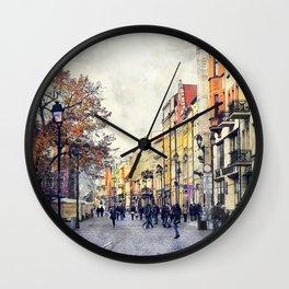 Torun city art 3 #torun #city Wall Clock