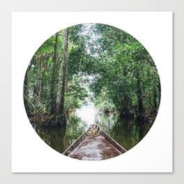 Into The Amazon Rainforest Fine Art Print Canvas Print