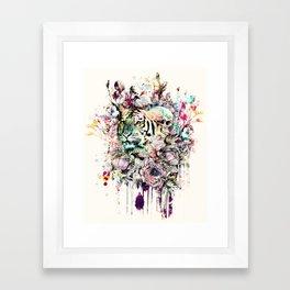 Interpretation of a dream - Tiger Framed Art Print
