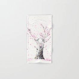 Cherry Blossoms And Birds Hand & Bath Towel