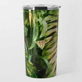 Leaf & gold Travel Mug