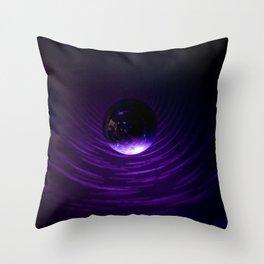 Disco Universe Throw Pillow