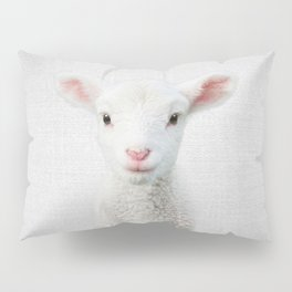 Lamb - Colorful Pillow Sham