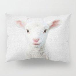 Lamb - Colorful Pillow Sham