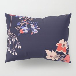 Colorful Night Roses Pillow Sham