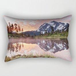Mt Shuksan Rectangular Pillow