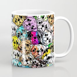 Gemstone Pugs Dogs Coffee Mug