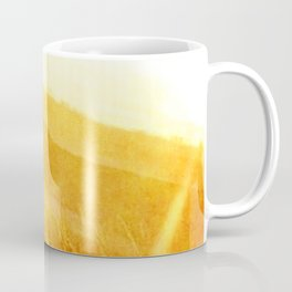 Through gold-woven dreams Coffee Mug