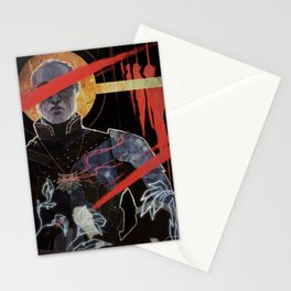 Justice tarot card Stationery Cards