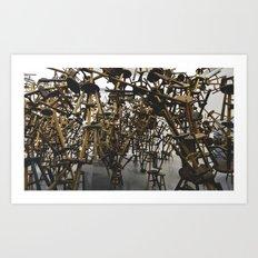 Ai WeiWei Art Print