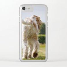 Italian Spinoni Dogs Woody & Ruben Clear iPhone Case