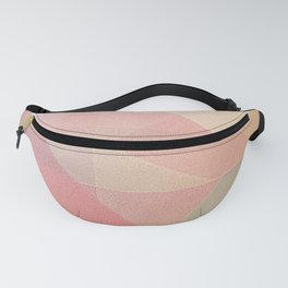 Sunset Mountains - Geometric Abstract Fanny Pack